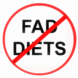 Do Not Do A Fad Diet