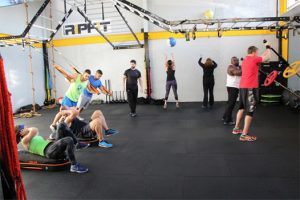 Small Group Personal Training gets you a H.I.I.T. workout